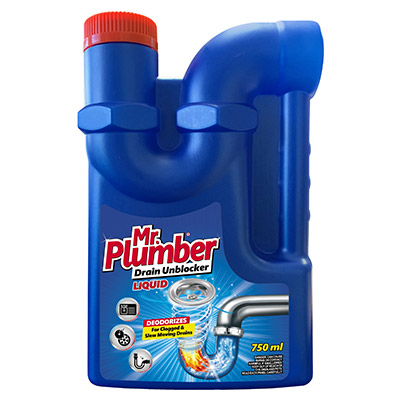 Mr. Plumber Drain Unblocker Liquid 750ml