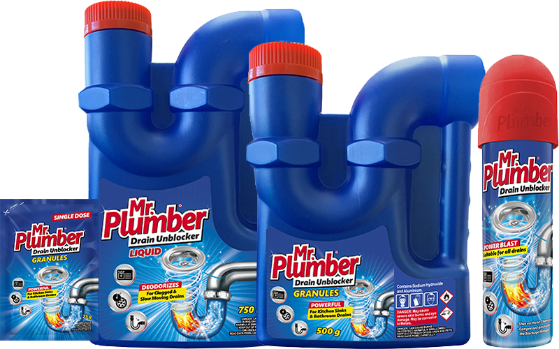 Mr Plumber Drain Unblocker Products