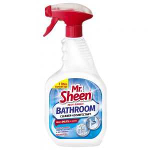 Mr. Sheen Bathroom Cleaner – Multi-surface cleaner and disinfectant