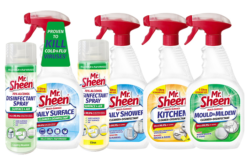 Mr Sheen Cleaning Products