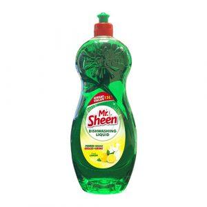 Mr. Sheen Dishwashing Liquid – Fresh Lemon 1.5 L
