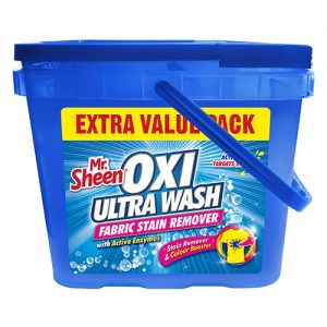 Oxi Ultra Wash Fabric Stain Remover Extra Value Pack – Colours
